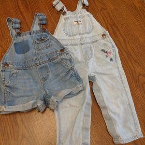 OshKosh B'Gosh 2-pc bundle-pants & shorts 9-12mos